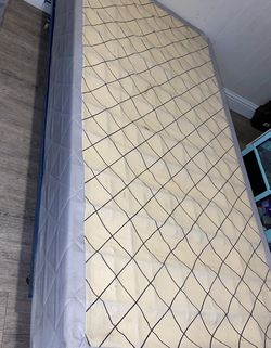 Twin Mattress And Twin Bed Frame for Sale in Fresno,  CA