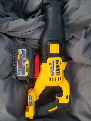 60 Flex Volt Reciprocating Saw with 6.0 60 Volt Battery no Charger BRAND NEW !!!!!!! for Sale in Bakersfield, CA
