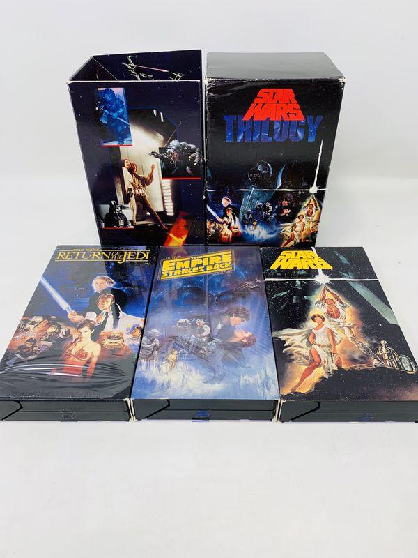 Star Wars Trilogy VHS Box Sets 1995