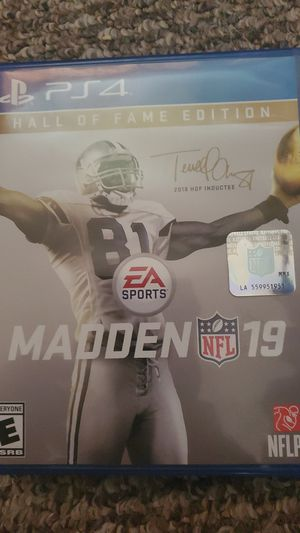 Madden 19 ps4 for Sale in Lake Hallie, WI