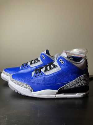 Air Jordan 3 Blue Cements Size 11 Deadstock from SNRKS for Sale in Wilsonville, OR