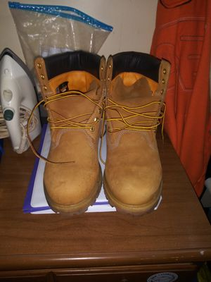 Two pairs of Timberland boots almost brand new barely been worn for Sale in Philadelphia, PA