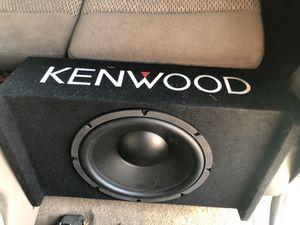 Kenwood car amps and speakers car amplifier and car speaker car audio car amp ar subwoofer car subs audio amp and subwoofer for Sale in Phoenix, AZ