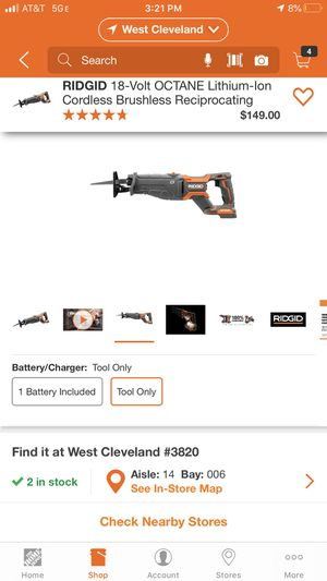 Ridgid, Nail Gun, and air compressor hose. for Sale in Cleveland, OH