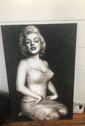 Canvas art Marilyn Monroe for Sale in San Diego, CA