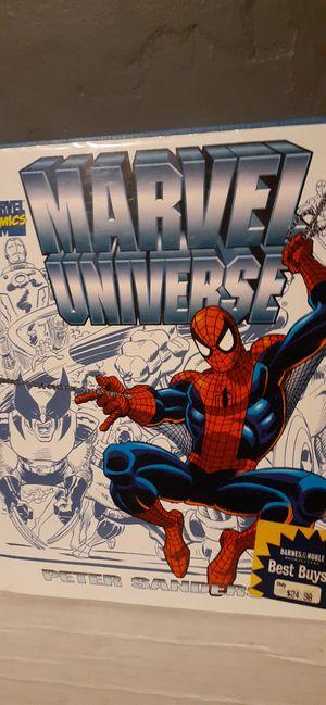 Marvel Universe Hardcover for Sale in Saginaw, MI