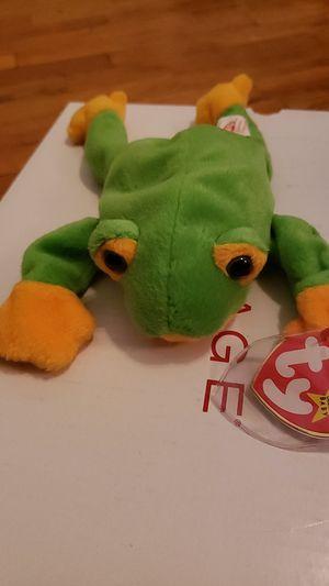 Smoochy ( frog beanie baby) for Sale in East Wenatchee, WA