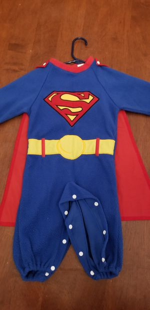 Rubie's Infant Boys Superman 2 piece Halloween Costume Romper and Cape 6/9 months for Sale in St. Louis, MO