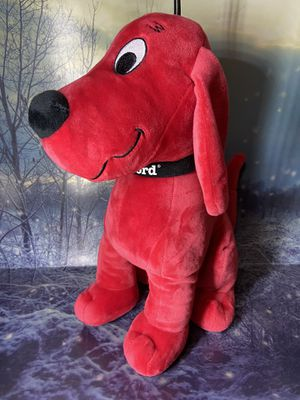 """Clifford The Big Red Dog 14"""" plush toy for Sale in Long Beach, CA"""