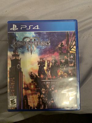 KINGDOM HEARTS 3 *with warranty* for Sale in Fresno, CA