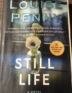 Used Paperback Book : Still life, a novel by Louise Penny (D) for Sale in Pinellas Park,  FL