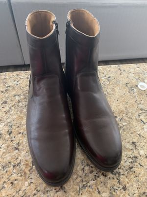Men's Brown Leather Boots for Sale in Parkville, MD