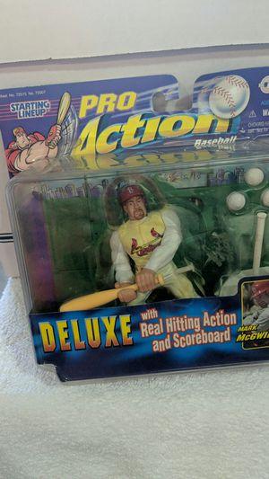 Mark McGwire Pro Action Baseball Figure for Sale in Spanaway, WA