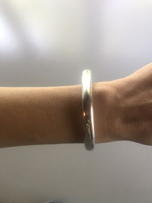 Tiffany & Co Elsa Peretti Doughnut bangle in sterling silver for Sale in Chevy Chase, MD