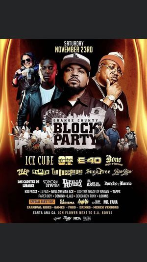 This Saturday Oc block party! for Sale in West Covina, CA