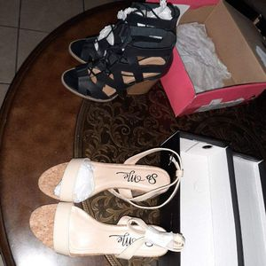 Charlotte Russe Heels/ Forever 21 Chunky Heels [Read Description] for Sale in Phoenix, AZ
