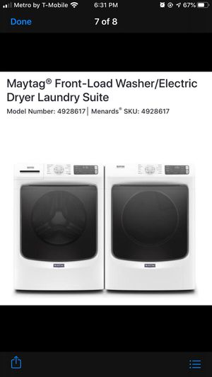 Washer Dryer for Sale in Akron, OH