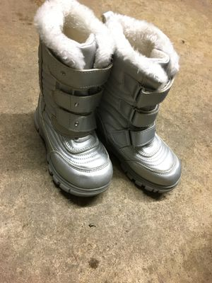 Snow boots. Size 11 kids for Sale in Fresno, CA