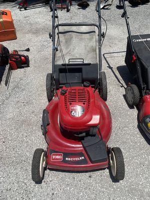 Toro lawn mower for Sale in Tarpon Springs, FL