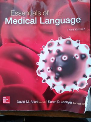 Essentials of Medical Language book for Sale in La Puente, CA