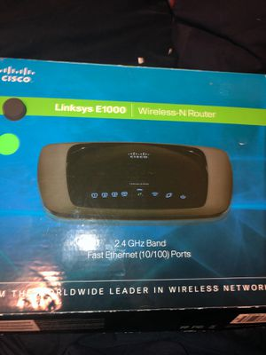 Linksys E1000 Wireless-N Router for Sale in Dearborn, MI