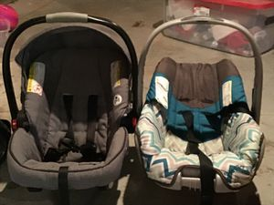 Two baby car seats for Sale in Sugar Grove, OH