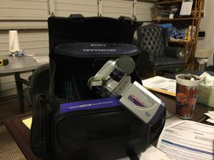 Sony handycam mini DVD video recorder for Sale in Saint Petersburg, FL