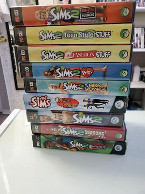 9 PC CD Games Sims for Sale in Woodbridge, VA