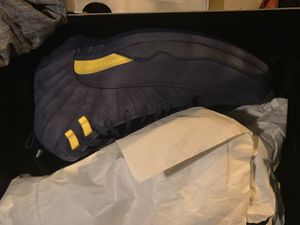 Jordan 12 Michigan size 11 for Sale in Garner, NC