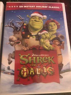 Shrek the Halls, Shrek 3D, Shrek 2 DVDs for Sale in Philadelphia,  PA