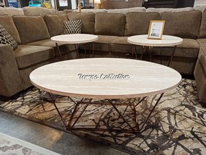 Occasional Table Set, Two Tone for Sale in Norwalk, CA