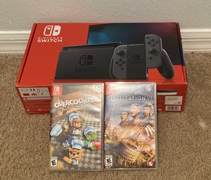 Nintendo Switch w/ games for Sale in Land O' Lakes, FL