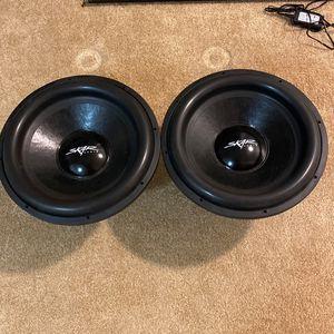 2 Skar audio 18 inch subwoofer for Sale in Peoria, AZ