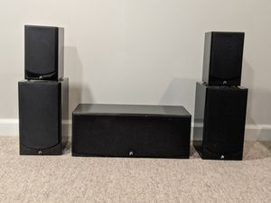 Audiophile Surround Sound System - Pioneer Elite Receiver and Aperion Speaker 5.1 System for Sale in Blue Bell, PA