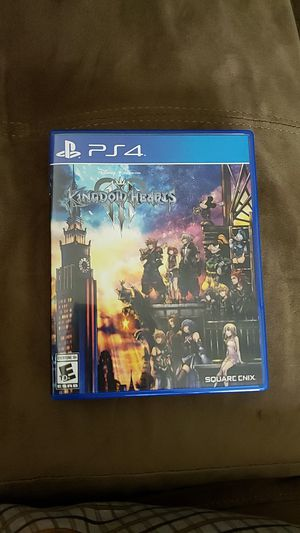 Kingdom Hearts 3 PS4 game for Sale in Sunnyvale, CA