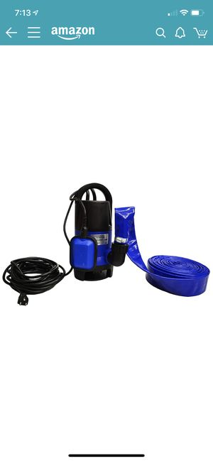 Pool and Hot Tub Submersible Drain Pump for Sale in City of Industry, CA