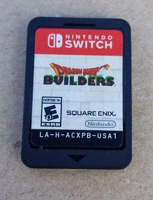 Dragon Quest Builders Nintendo Switch for Sale in Rosemead, CA