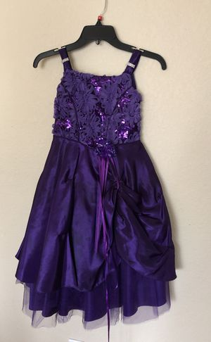 Flower girl dress size 8 for Sale in Round Rock, TX