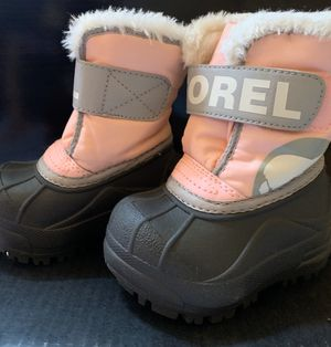 sorel toddler snow boot for Sale in Brooklyn, NY
