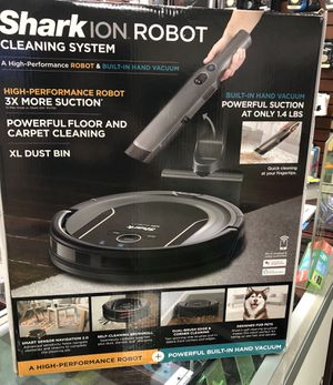 Brand New SHARK ION Robotic Vacuum Cleaning System S87 with Wi-Fi NIB for Sale in Houston, TX