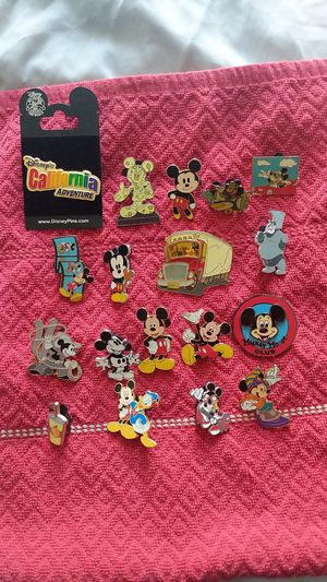 Disney pin lot of 18. Mickey mouse collection. Lot b for Sale in Oviedo, FL