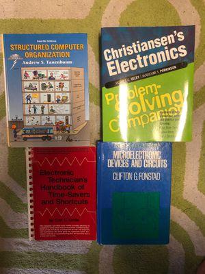 Electronics text books for Sale in Bradenton, FL