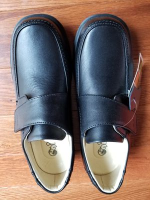 Black GIBI Boy's Genuine Leather Shoes Size 37 for Sale in Springfield, VA