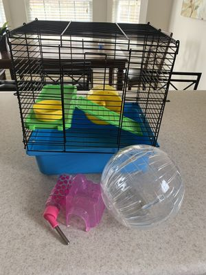 Hamster cage and accessories for Sale in Kernersville, NC