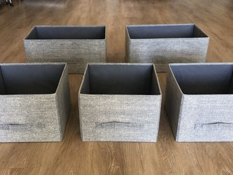 Fabric Storage Cubbies, Grey for Sale in Santa Barbara,  CA