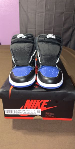 "Retro Jordan 1 ""Royal Toe"" DS size 6Y for Sale in Seguin, TX"