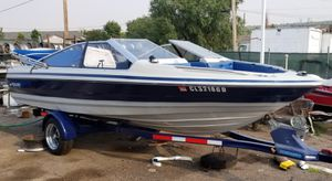PENDING PICK UP Boat 1989 bayliner capri with mercury 85hp outboard motor for Sale in Denver, CO