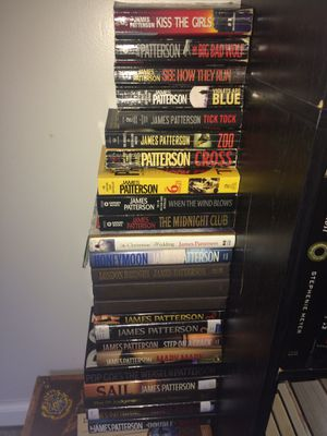 James Patterson Collection for Sale in Guysville, OH