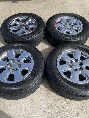 "18"" GMC Sierra OEM rims wheels tires! for Sale in Boynton Beach, FL"