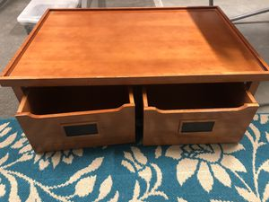 Play table with drawers on wheels for Sale in Renton, WA